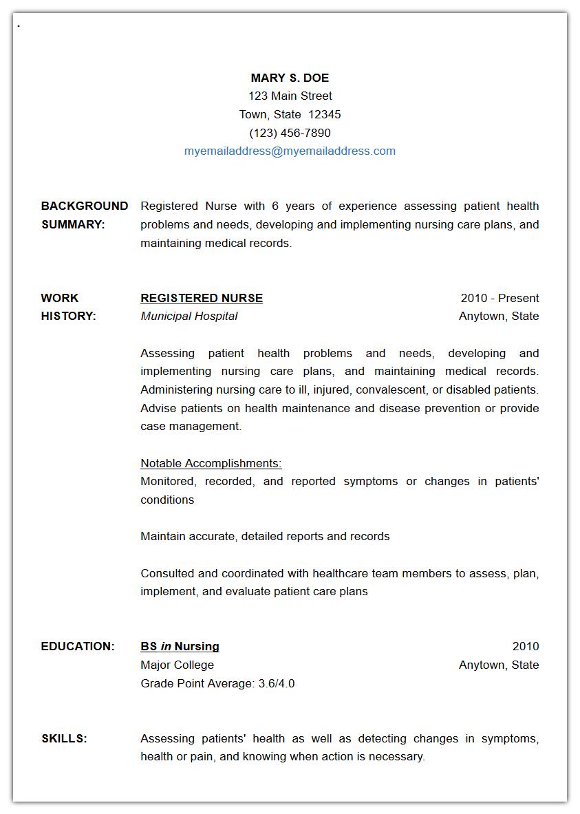 Free Resume Builder | writeCLICKresume
